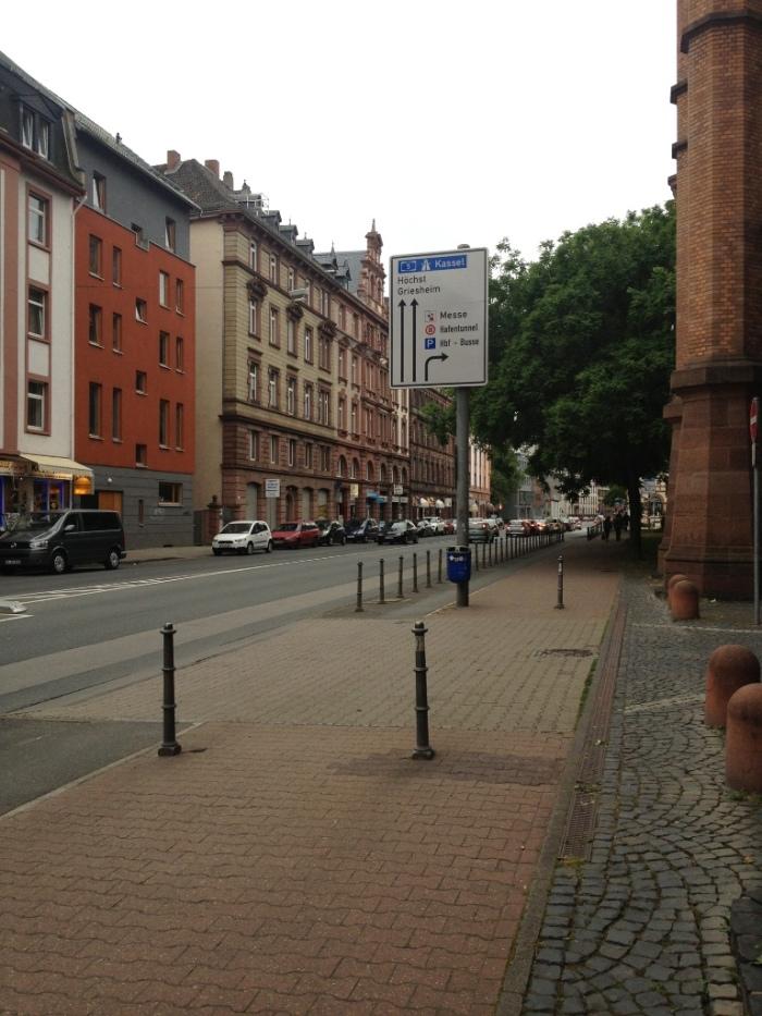 フランクフルトの町並み