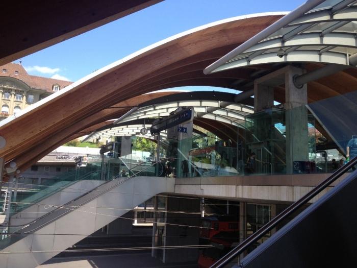 ベルン駅2階