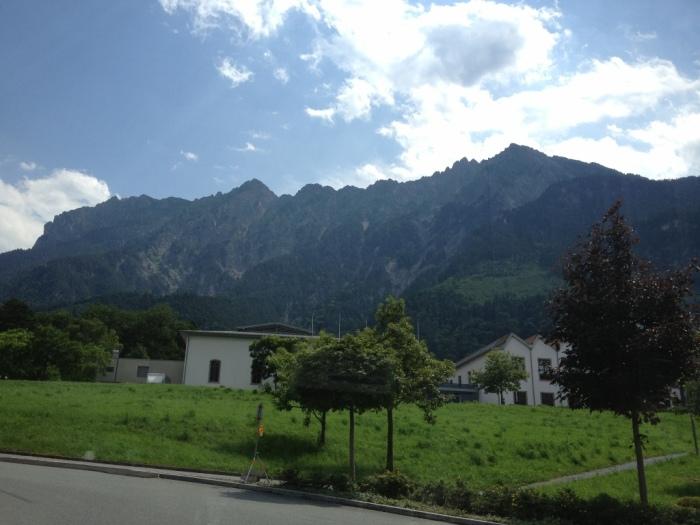 バスからの景色