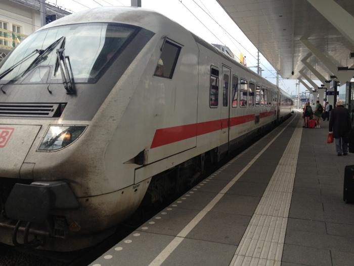 旅の最後の長距離列車