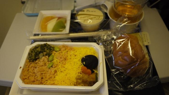 機内食二食目