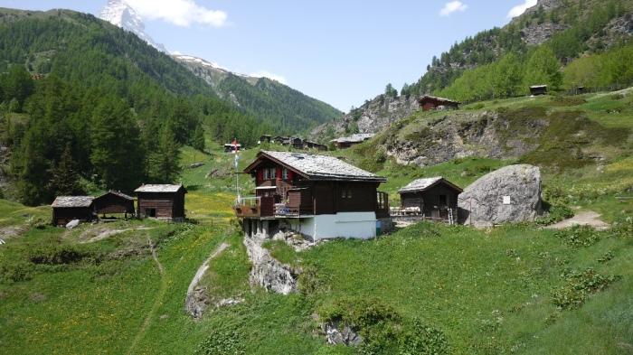 スイス風の家屋