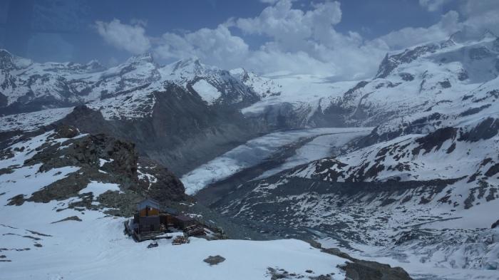 氷河を眺めながら