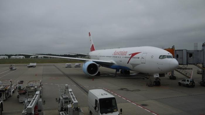 オーストリア航空機