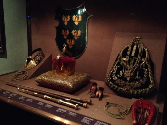 王宮宝物館の収蔵品