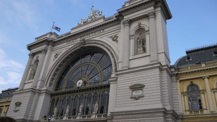 三たびブダペスト東駅
