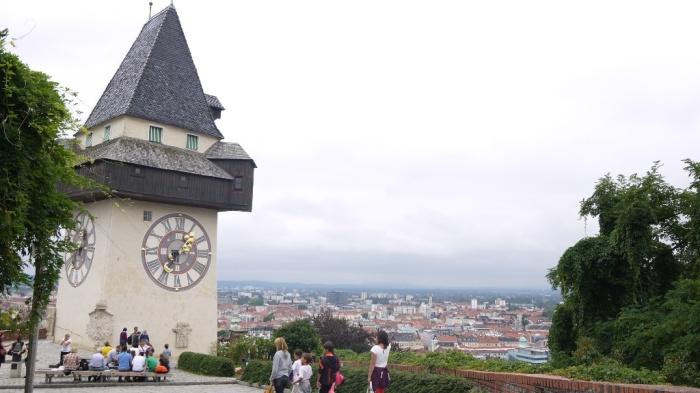 シュロスベルクの時計塔