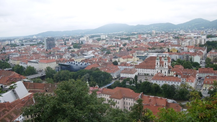 城からの風景